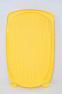 Cutting Board Yellow In Plastic Tupperware 40x24 Cm