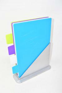 Set 4 Taglieri Colorati In Plastica