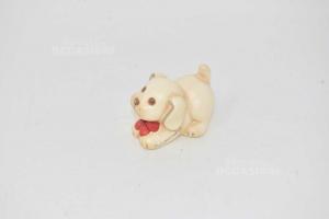 Oggetto In Ceramica Thun Cane Lunghezza 7 Cm