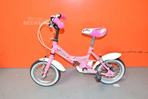 Bici Bambina Lombardo Rosa