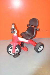Triciclo Giocattolo Rosso Nero Grigio
