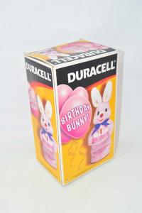 Duracell Gadget Pubblicitario 30 Years Anniversary Rabbit Bunny Vintage + Box