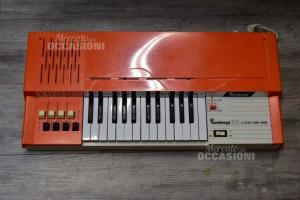Bontempi 105 Electric Chord Organ Keyboard Electric Vintage Pianola Musical +