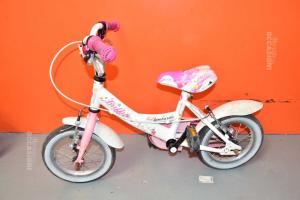 Bici Bambina Lombardo Bianca ( Difetto Sella )