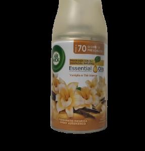 AIR WICK FRESHMATIC RICARICA - Essential Oils Vaniglia e The Bianco 250ml