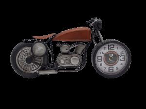 Mascagni orologio da tavolo motocicletta in metallo