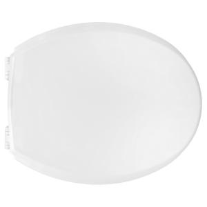 SEDILE WC UNIVERSALE CANYON IN LEGNO CON CERNIERE IN PVC               Bianco