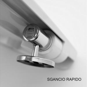 SEDILE WC CLOUD CON SOFT CLOSING                          BIANCO OPACO