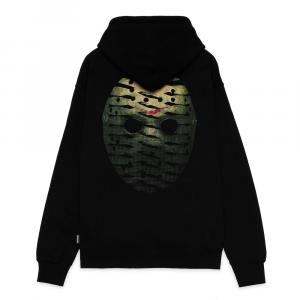 PROPAGANDA Hoodie Ribs Icon Mask Black
