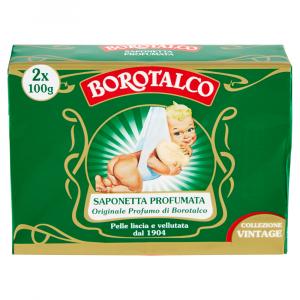 Borotalco Sapone solido - Originale profumo di Borotalco 2x100g