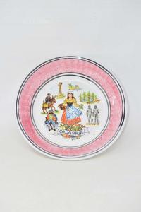 Plate Centerpiece Calabria Ceramic 30 Cm