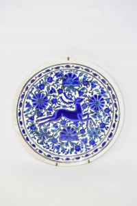 Hanging Plate Made In Greece From Dakas Ceramic Diameter 25 Cm