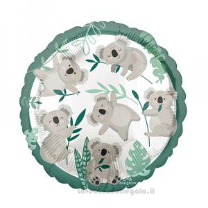 Palloncino Foil Koala Compleanno bimbo 45 cm - Party allestimento