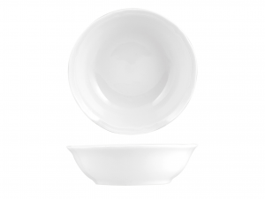 Coppetta in porcellana, A 13 cm, bianco