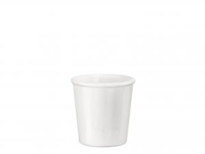 Bicchiere In Vetro Opale Caffe' Aromateca Bianco Cl9,5