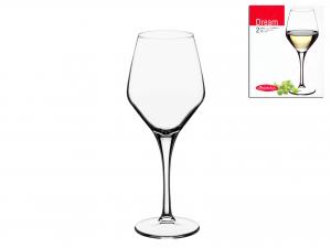 Confezione 2 Calici In Vetro Dream Vino Bianco 38 44581l