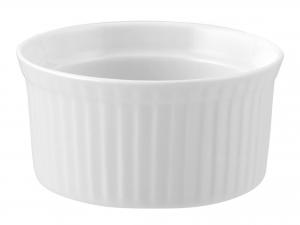 Ramequin Porcellana Bianco Cm8,5xh4      A0938