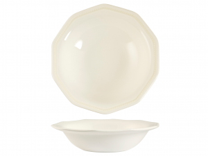 Confezione 2 Coppette Earthenware Arctic White Cm18