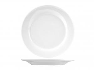 PIATTO IN PORCELLANA BIANCO WHITE FRUTTA 19,5  75F