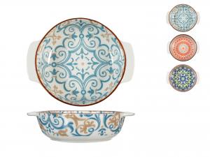 H&h Pirofila Porcellana Tonda Cm16, Colori Assortiti