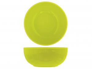 Insalatiera In Earthenware, ø 22 Cm, Verde Lime