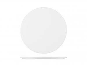 Piatto Tondo In Porcellana, ø 24,5 Cm, Bianco