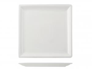 Piatto In Porcellana, 20,5x20,5 Cm, Bianco