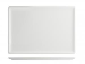 Piatto Rettangolare In Porcellana, 26x16,5 Cm, Bianco