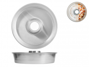 Tortiera In Alluminio Alta C/tub Cm26 H6