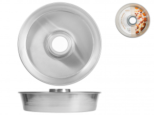 Tortiera In Alluminio Alta C/tub Cm28 H6