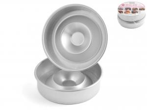 Set 2 Pezzi In Alluminio 'formarombo'