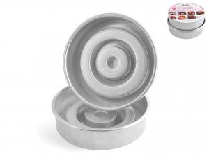 Set 2 Pezzi In Alluminio 'formabigusto'