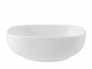 Coppetta In Porcellana, 13x11 Cm, Bianco
