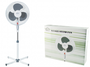 Ventilat Elettrico Con Piantana 3v Cm40 Ve1625