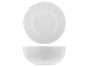 H&h Insalatiera Ceramica Iris Bianco Cm22
