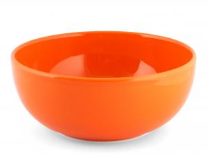Insalatiera In Earthenware, ø 22 Cm, Arancione