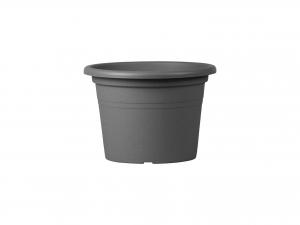 Vaso Polipropilene Cilindro Antracite Cm18 01001