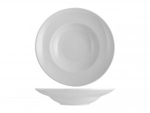 Piatto Pastabowl Porcellana Merano Bianco Cm24