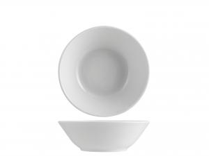 Insalatiera Monoporzione Porcellana Merano Bianco Cm16