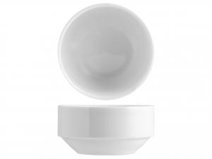 Coppetta Impilabile Porcellana Merano Bianco Cm12