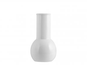 Vasetto Fiori Porcellana Merano Bianco