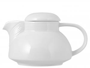 Teiera Porcellana Firenze Bianco Cc750