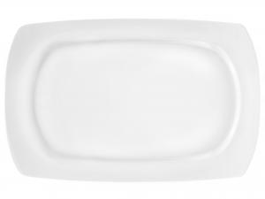 H&h Piatto Porcellana Kana Ovale Cm35 Stoviglie