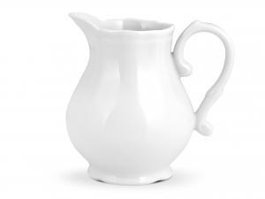 Lattiera In Porcellana, 250 Ml, Bianco