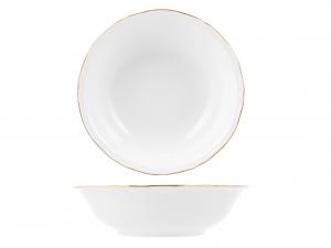 Insalatiera In Porcellana Alba Gold Cm 26