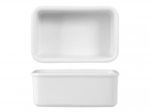 Portabustine Te' Porcellana Wersal Bianco Cm11