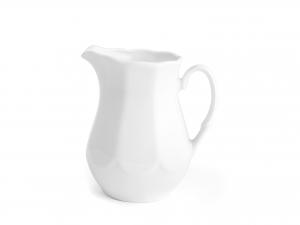 Lattiera In Porcellana Jastra Bianco Cc 200