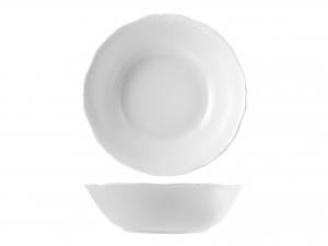 Insalatiera In Porcellana Arianna Bianco Cm18