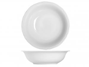 Insalatiera In Porcellana, ø 26 Cm, Bianco