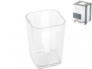 Bicchiere Bagno Acrilico Quadro Trasparente 787*disp